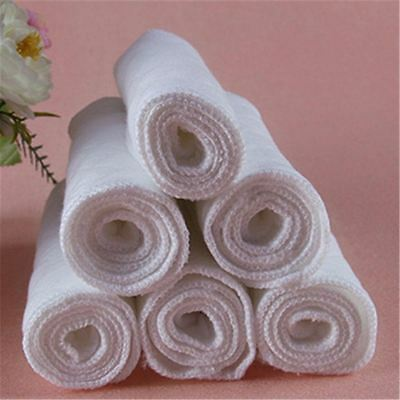 5 PCS Adjustable Reusable Lot Baby Washable Cloth Diaper Nappies White Pink New 7