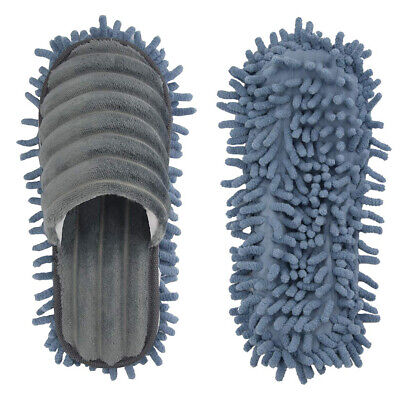 Pair Mop Slippers Lazy Floor Foot Socks Shoes Quick Polishing Easy Cleaning Dust 7