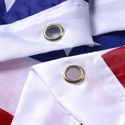 3'x 5' FT American Flag U.S.A U.S. United States Stripes Stars Brass Grommets