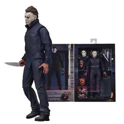 """NECA 2018 Halloween Michael Myers Ultimate 7"""" Action Figure 1:12 Collection New"""