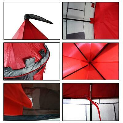 deAO Red Castle Pop up Play Tent Christmas Gift for Kids Children Playhouse 8