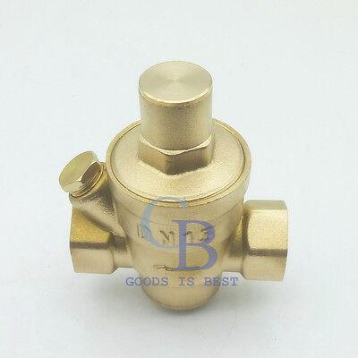 2'' DN50 Bspp Brass Water Pressure Reducing Valve With Gauge Flow Adjustable