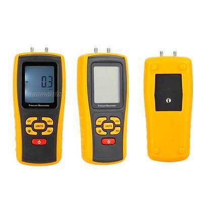 Handheld Differential Pressure Gauge Manometer 10KPa USB GM510 Digital Tester 8