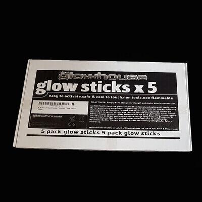 5 x Glow Sticks 6 Inch Premium Glowhouse Brand 3