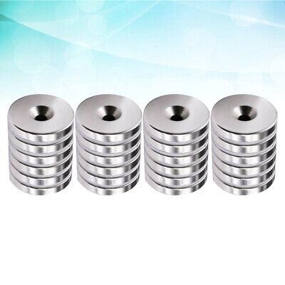 100//200 Stück Set Starke Magnete N50 Neodym Permanentmagnet 8x3mm mit 3mm Loch