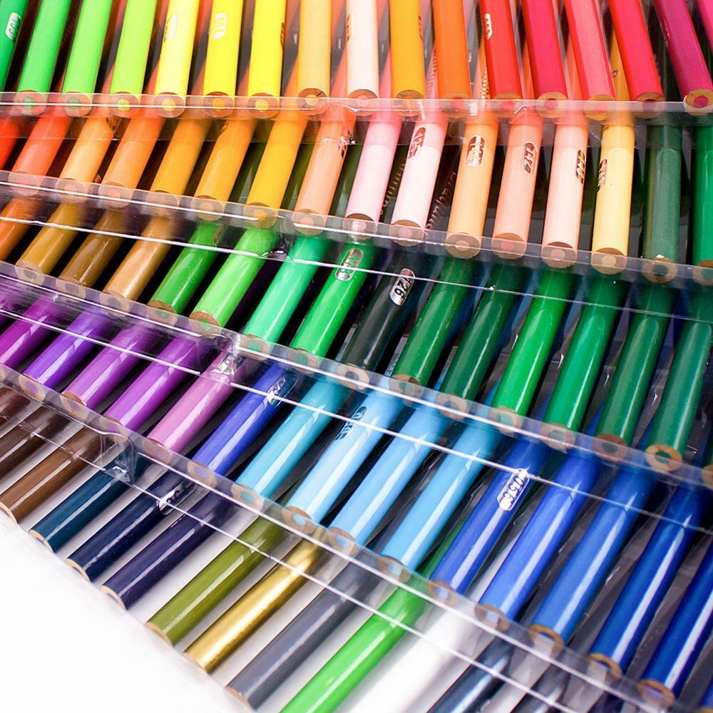 48 72 120 160 Colors Wood Colored Pencils Set Oil Based HB School Drawing Sketch 4
