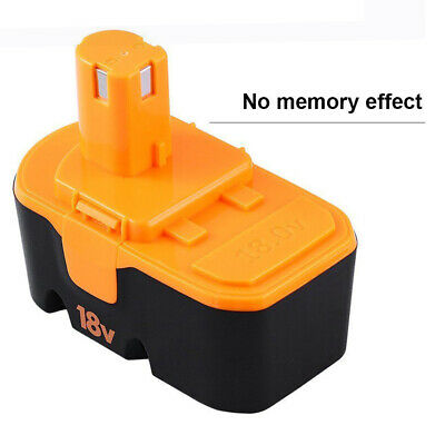 18v 3.0Ah Replace for Ryobi Battery ONE+ P100 P101 1322401 1400672 13022 ABP1801 2