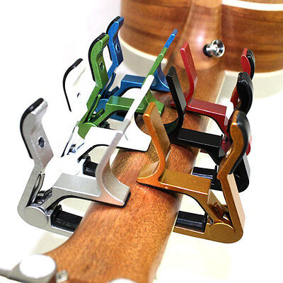 Change Key Capo Clamp for Electric Acoustic Guitar Quick Trigger Release ddl 2