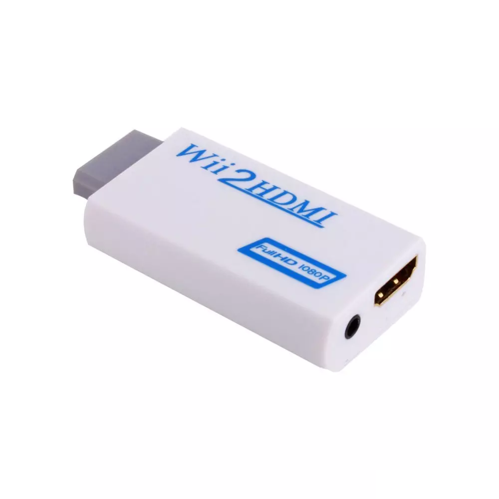 Wii To Hdmi Adapter Wii2hdmi 1080p Converter 3.5mm Audio Video Full HD Wii HDTV 4