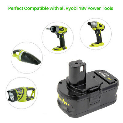 18V for P108 RYOBI ONE PLUS Li-ion High Capacity Battery P104 P105 P106 P107 4Ah 3