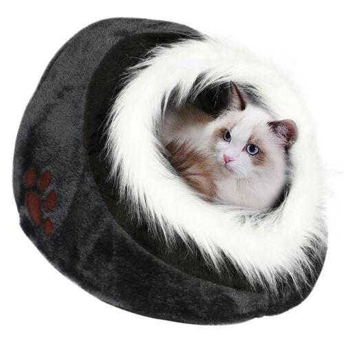 Tierbett Tierhöhle Katzenhöhle Katzenkorb Hundehöhle Hund Welpe Katze Bett Höhle 3