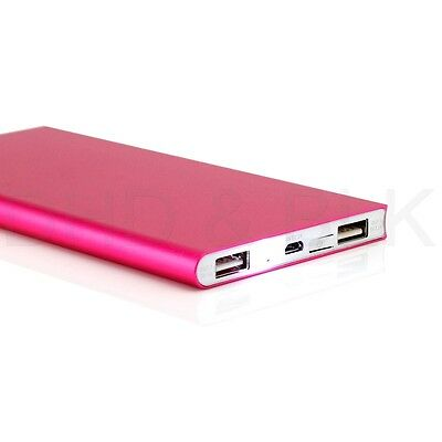 Ultra Thin 20000mAh Portable External Battery Charger Power Bank for Cell Phone 7