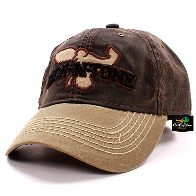 RNT RICH-N-TONE DUCK Hat Ball Cap Waxed Visor With Logo Duck Goose ... b5c53a481c73