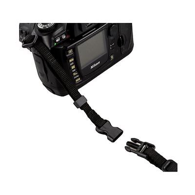 JJC NS-Q Straight Black Quick Release Neoprene Neck Strap for Camera Camcorder