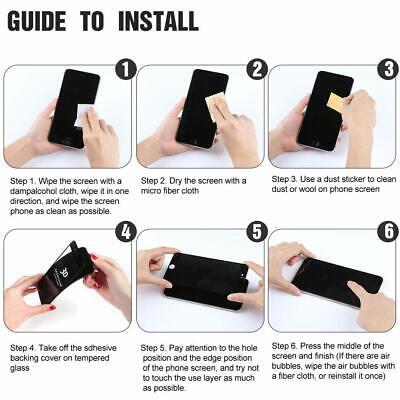Verre Trempe Iphone Film Vitre Protection Ecran 11 Pro Max 6 7 8 Plus X Xr Xs 9