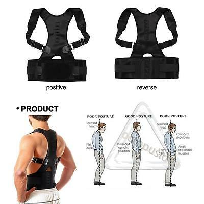 Postura Corrector Apoyo Magnético Espalda Hombro Abrazadera Cinturón 3