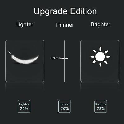 5x Tempered Glass Screen Protector Film Guard For Fitbit Versa /Versa Lite 6