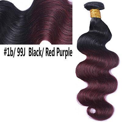 Brésilien Indien Ondulé Cheveux Humain Tissage Virgin Remy Coudre en Corps Vague 7
