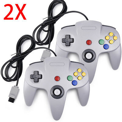 Controller Joystick Gamepad Controllers for Classic N64 Console Video Games 1x2x 3