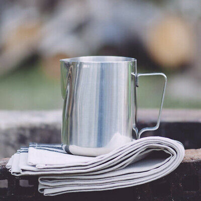 Stainless Steel Milk Frothing Jug Frother Coffee Latte Container Metal Pitcher 10