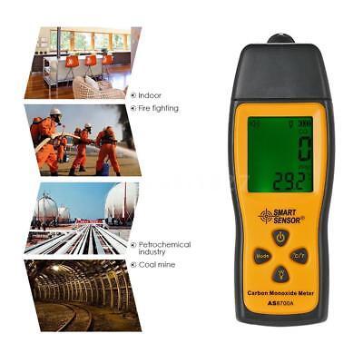 SMART SENSOR Handheld LCD Carbon Monoxide Meter CO Tester Monitor Detector Gauge 4