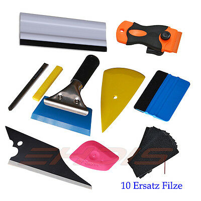 Window Tint Tools Car Wrapping Application Kit, Sticker Vinyl Sheet Squeegee UK 2