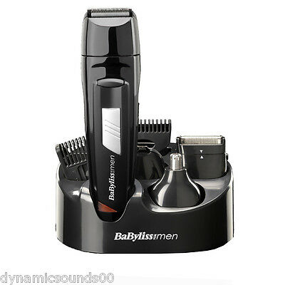 Babyliss Men 8 IN 1 Grooming Kit Cordless Body Hair Clipper Beard Trimmer 7056CU 3