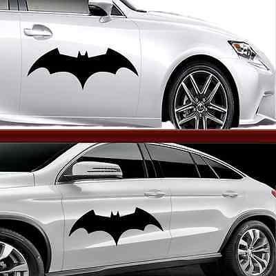 XXL Autoaufkleber Auto Tattoo ca.55,5x22cm in Weiss Batman
