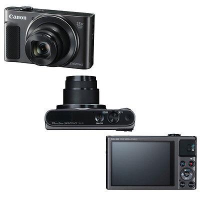 Canon PowerShot SX620 HS 20.2MP 25X Zoom Wifi Digital Camera 32GB Accessory Kit 2