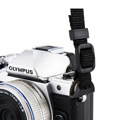 JJC NS-M1BK Neoprene Black Neck Strap for Mirrorless Cameras with Strap Eyelets