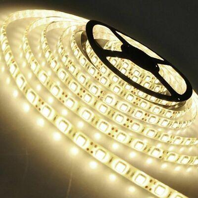 5m 10m 20m LED Strip RGB stripe Band streifen 5050/3528 Lichtband Licht warmweiß 4
