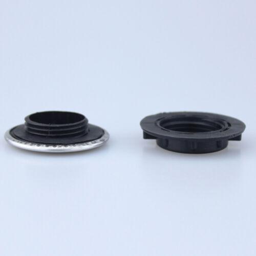 Trou de robinet d'évier obturateur bouchon plaque de recouvrement disque poli T1 2