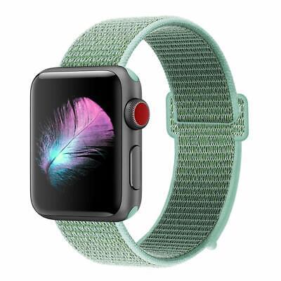 Cinturino per Apple Watch 42MM 44MM Morbido Nylon Sport Loop 5