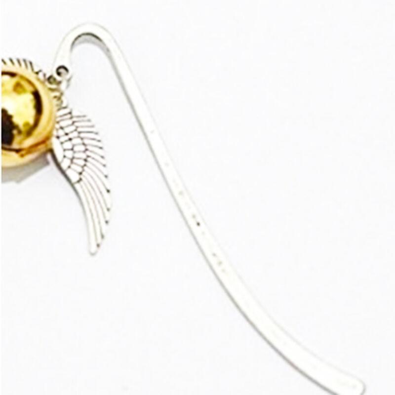 Brang New Wing Snitch Metal Bookmark Tibetan Silver Potterhead Birthday Gift