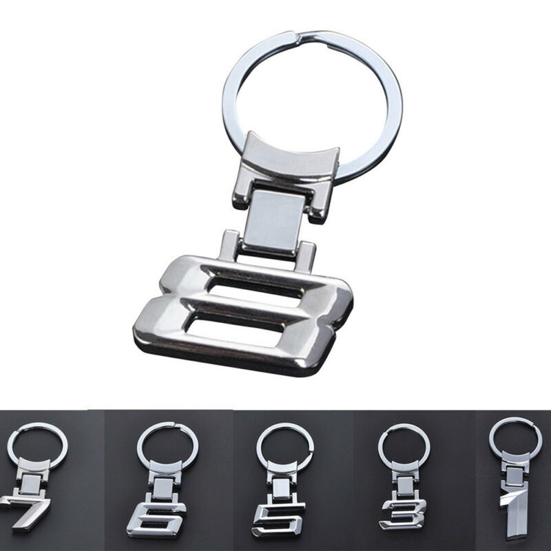 Car Logo Alloy Key Chain keyring Key Holder Ring For BMW 1 3 5 6 7 8 X Series 4