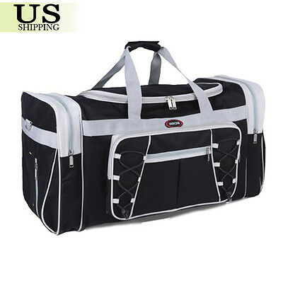 """26"""" Waterproof Overnight Tote Travel Gym Sport Bag Duffle Carry On Luggage 3"""
