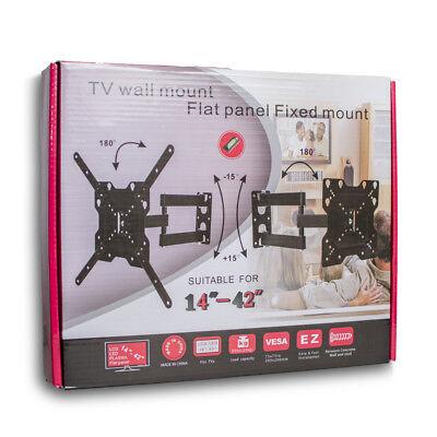 "Soporte basculante LCD LED Pared Universal TV 14 a 42 "" Entrega 48/72 H. a4072 2"