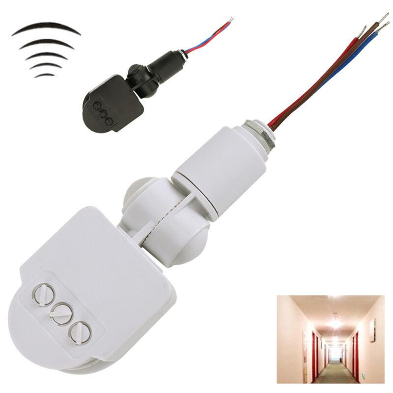 Rilevatore Di Presenza Per Accensione Luci.12v Rilevatore Luce Sensore Di Movimento Infrarossi 180 Pir