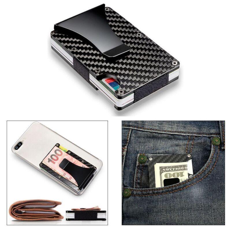 RFID Blocking Metal Wallet The Minimalist Wallets Credit card Holders Money Clip 4
