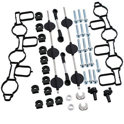 For Audi A4 A5 A6 A8 2.7 3.0 TDI Admission Collecteur d'Admission Kit Réparation 2