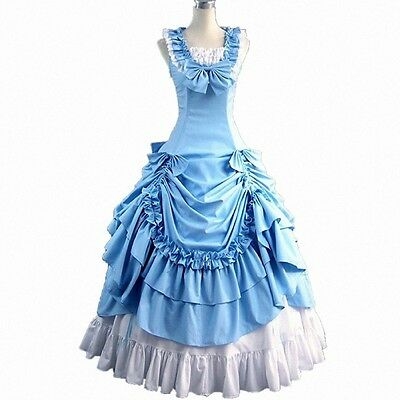 VICTORIAN PROM DRESS Southern Belle Ball Gown Reenactment Theater ...