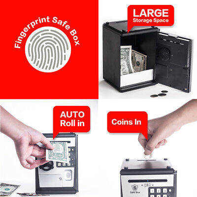 Safe Box Fingerprint Atm Bank
