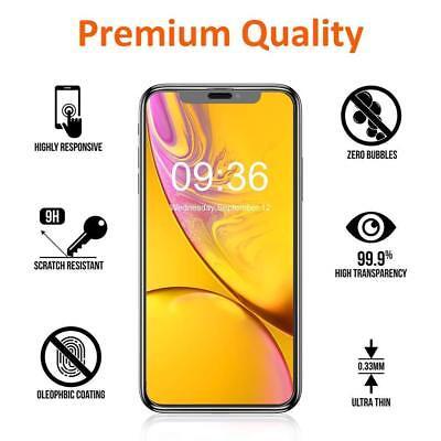 9D Vitre Verre Trempé Film protection protecteur écran iPhone XS XR X XS Max 3