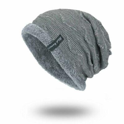 Winter Beanies Slouchy Chunky Hat for Men Women Warm Soft Skull Knitting Caps 6