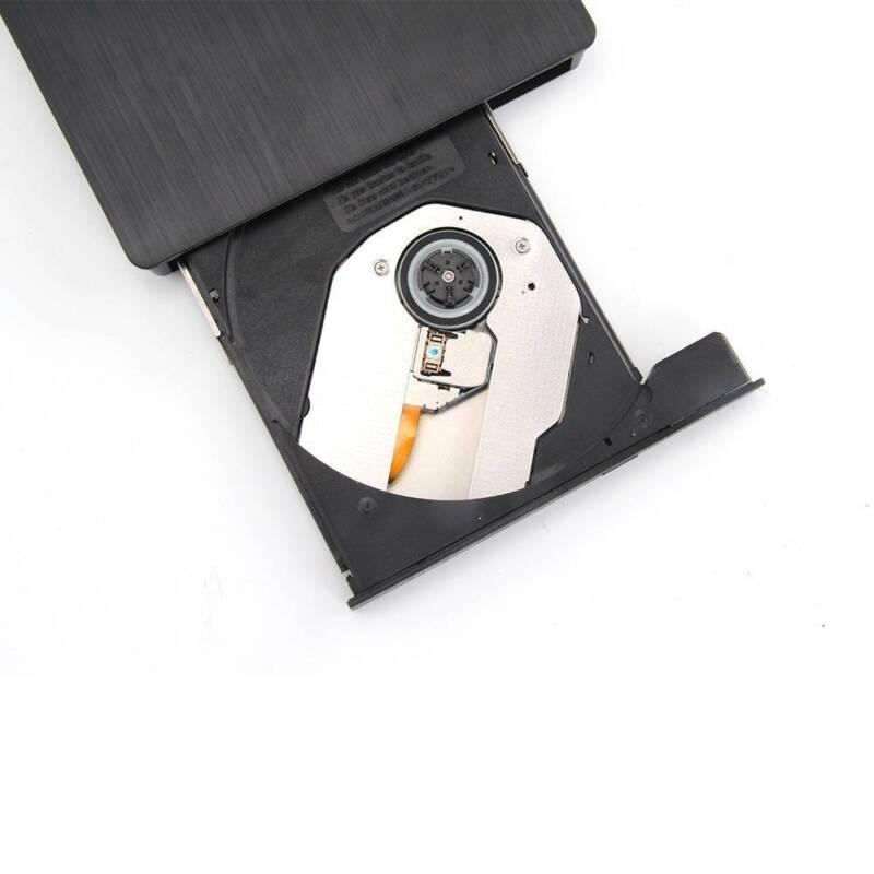 Slim USB 2.0 External CD-RW DVD ROM Drive Writer Reader Burner For Laptop PC UK 10