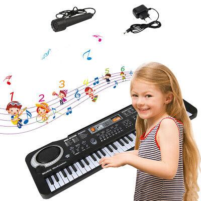 61 Key Music Electronic Keyboard Electric Digital Piano Organ with Microphone 3