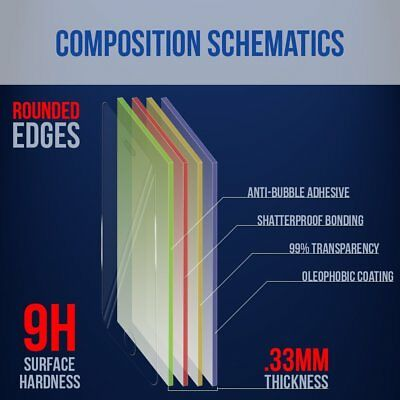2x Huawei P30 P30 Pro Tempered Glass Scratch Resist Screen Protector Film Guard 8