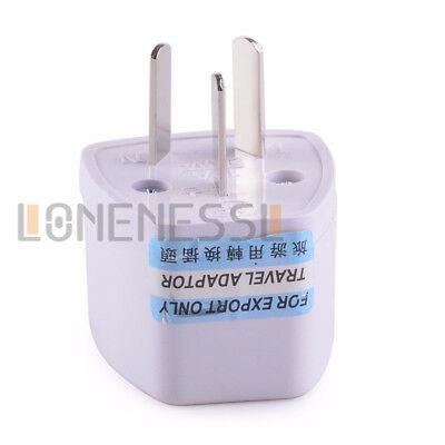 NEW UK USA EU to AU AC Power Plug Adapter Travel 2 Pin Converter Australian 6