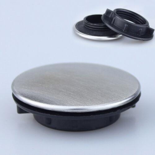 Trou de robinet d'évier obturateur bouchon plaque de recouvrement disque poli T1 3