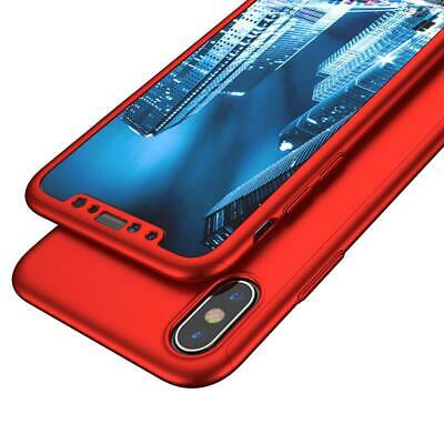 For iPhone 6 7 8 5s Plus XR XS Max Case Shockproof360 Bumper Hybrid Phone Cover 4